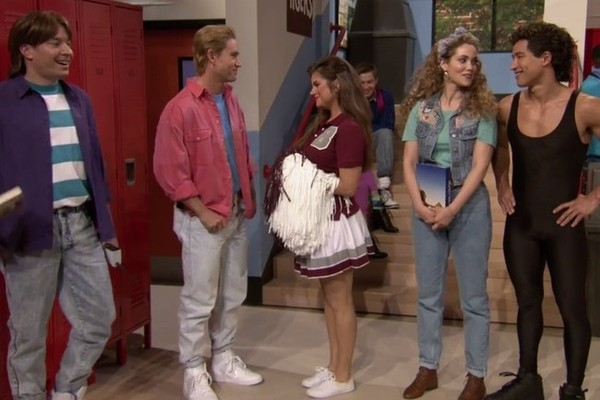 The 'Saved by the Bell' Cast Reunited and It Was Perfect