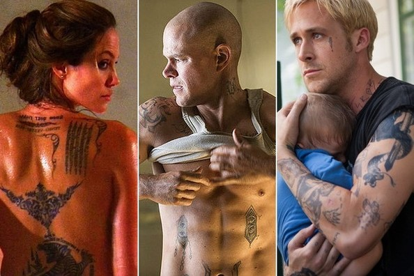 The Best Tattoos in Movies