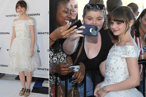 Joey King's Killer 'White House Down' Premiere Look