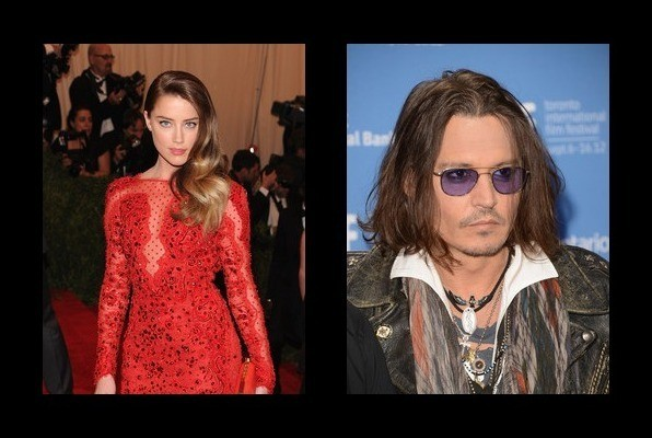 Amber Heard is engaged to Johnny Depp