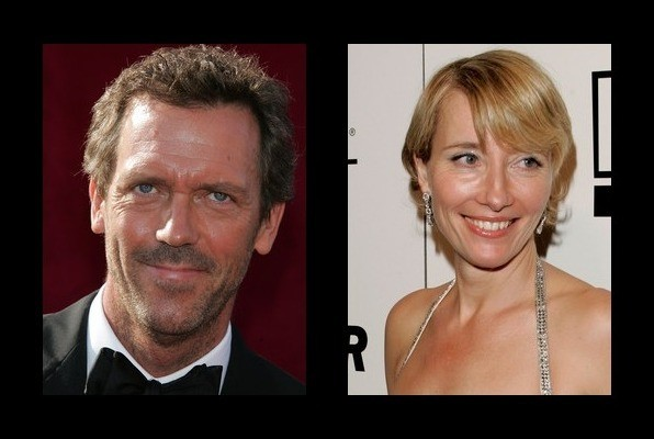Hugh Laurie dated Emma...