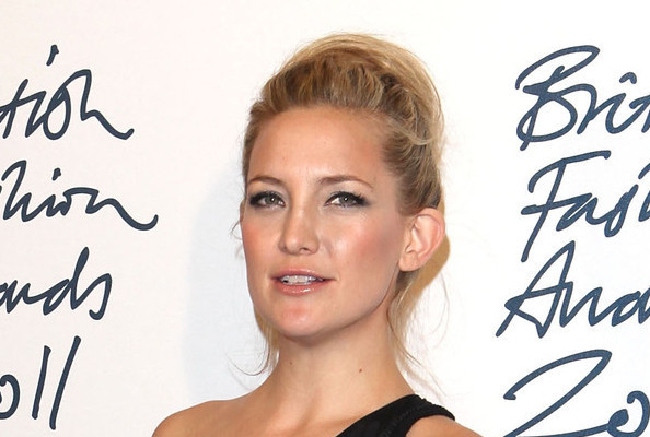 Kate Hudson's Backcombed Bun