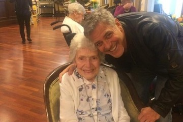 George Clooney Made This 87-Year-Old Woman's Birthday Dreams a Reality