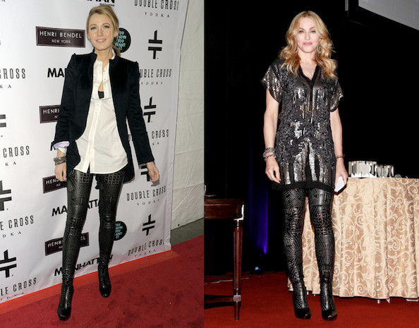 Who Wore Stella McCartney Better: Blake Lively or Madonna?