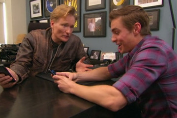What Happens When Dave Franco and Conan O'Brien Explore Tinder?