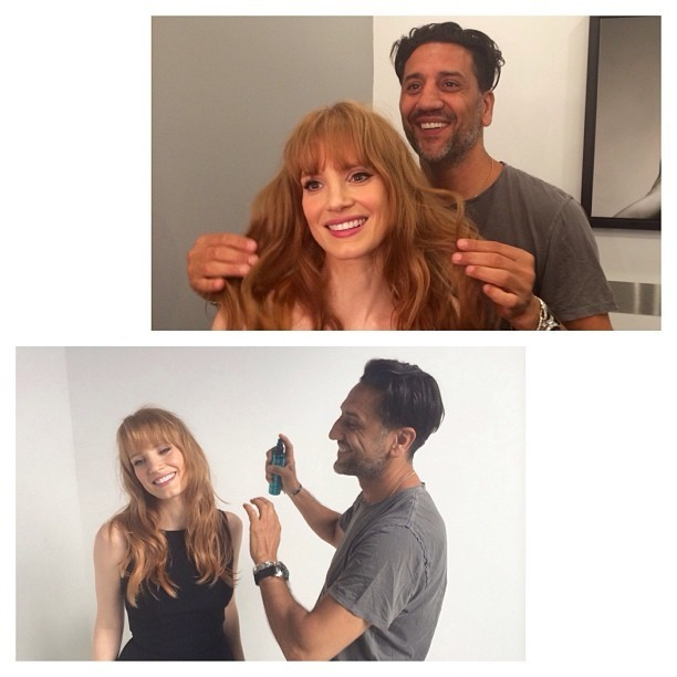 Hair Envy of the Day: Jessica Chastain's '60s Bangs