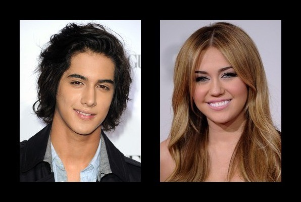 Miley Cyrus & Avan Jogia Kissing Couple