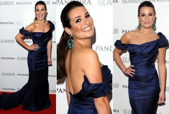 3LeHbvt0GE l Look of the Day: Lea Micheles Off the Shoulder Seduction