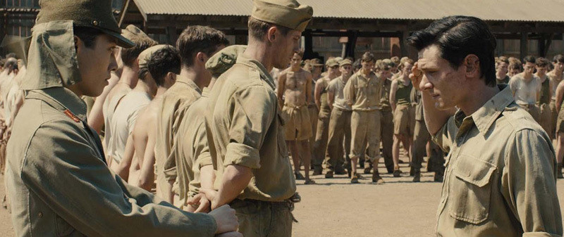 Jack O'Connell plays Louis Zamperini in 'Unbroken.'