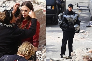 Let's Break Down the First Behind-the-Scenes Pictures from 'Avengers: Age of Ultron'