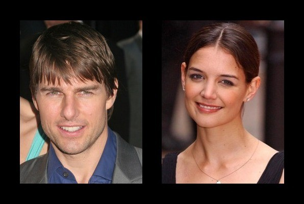 Tom Cruise dated Katie Holmes