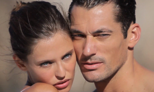 Behind the Scenes With David Gandy & Bianca Balti at Dolce & Gabbana's 'Light Blue' Photoshoot
