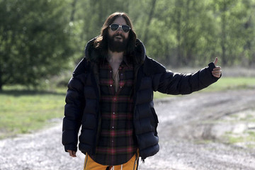 Eccentric Man Jared Leto Is Hitchhiking Across The Country To Promote His New Album