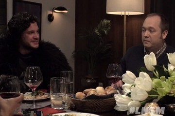 Watch: Jon Snow is a Depressing (Yet Hilarious) Dinner Party Guest