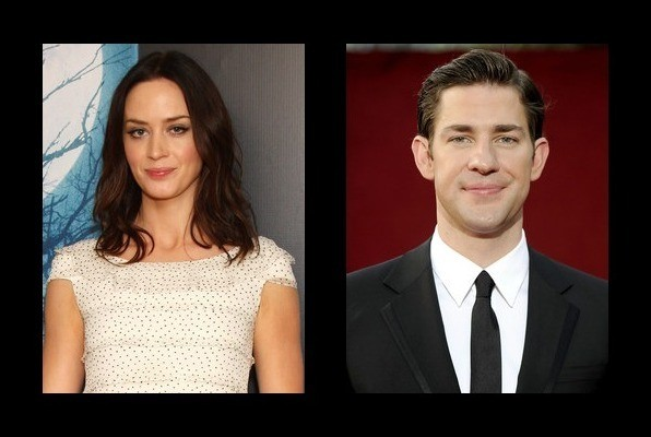 Emily Blunt is married to John Krasinski