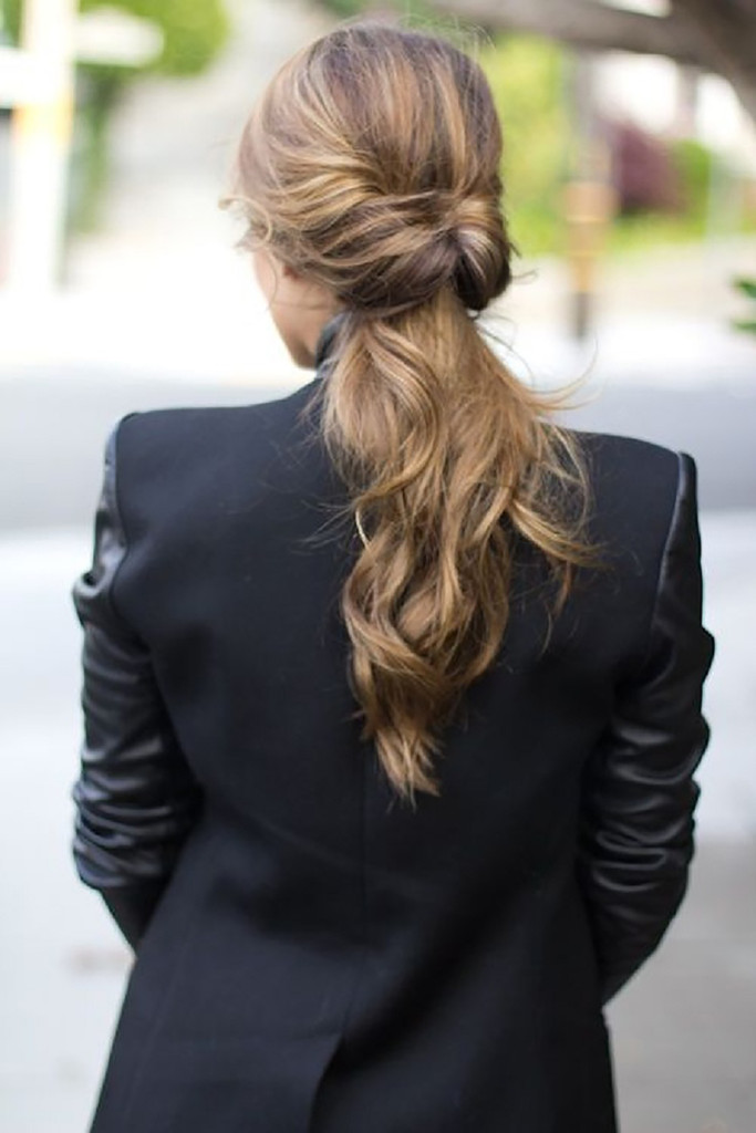 Hairstyle You Need to Try: The Inverse Ponytail