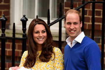 William and Kate Introduce Their New Daughter to the World