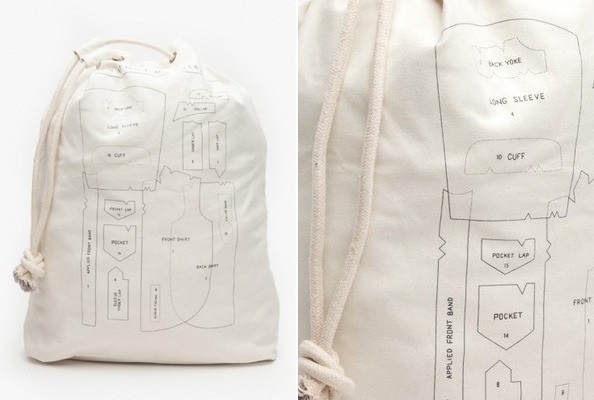 StyleBistro STUFF: Anatomy of a Shirt Laundry Bag - StyleBistro ...