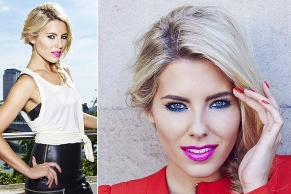 Mollie King Shows Us How to Make '80s Makeup Feel Modern