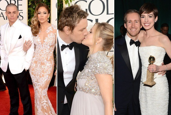 Hottest Couples at the 2013 Golden Globes