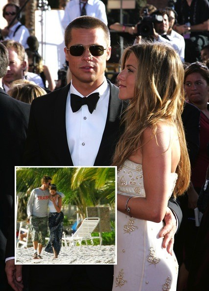 Brad Pitt & Jennifer Aniston - Divorce Denial - Stars Who ... Brad Pitt Movies List