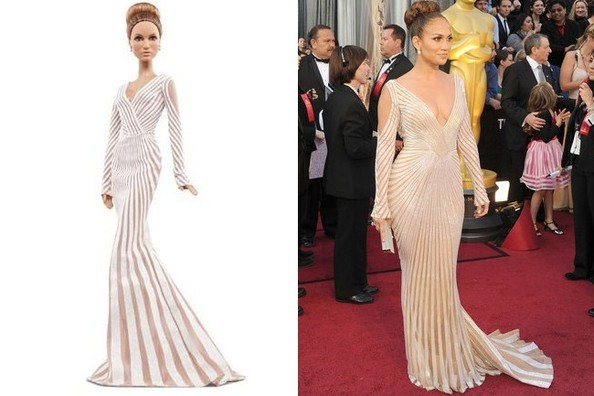 Even the Jennifer Lopez Barbie Wears Zuhair Murad