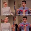 Ross Geller and Elizabeth, 'Friends'