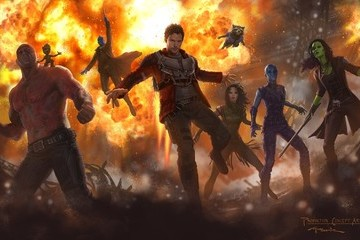 Here's Your First Look at 'Guardians of the Galaxy Vol. 2'