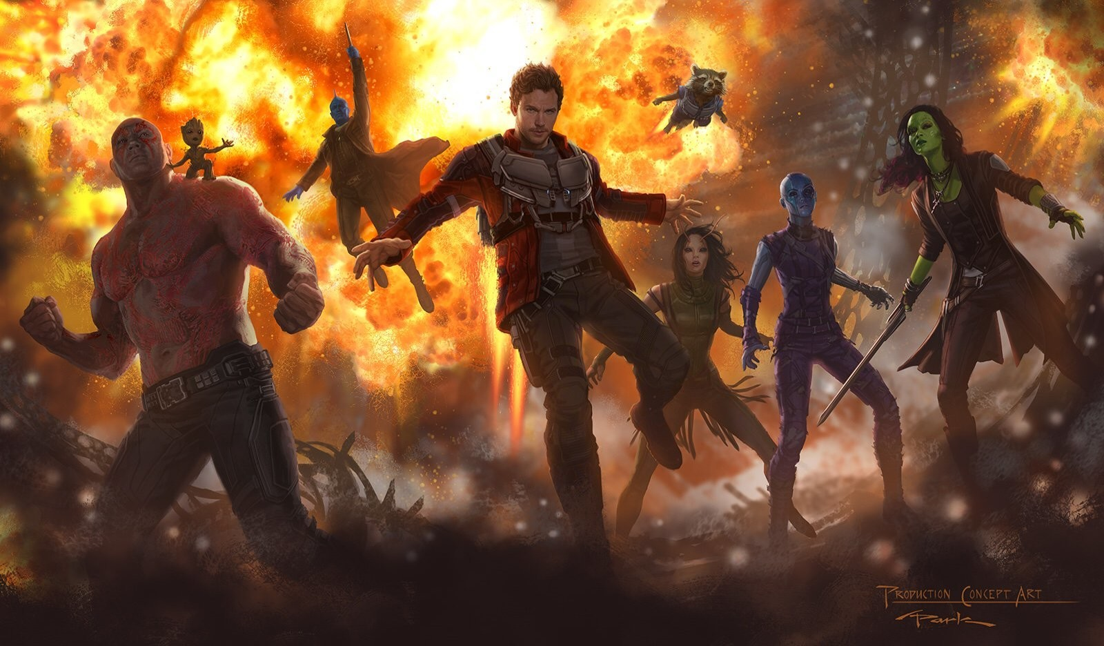 New Guardians of the Galaxy 2 Concept Art Debuts Mantis