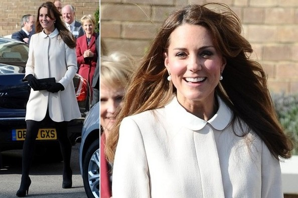 Obsessed: Kate Middleton's Retro Black-and-White Look