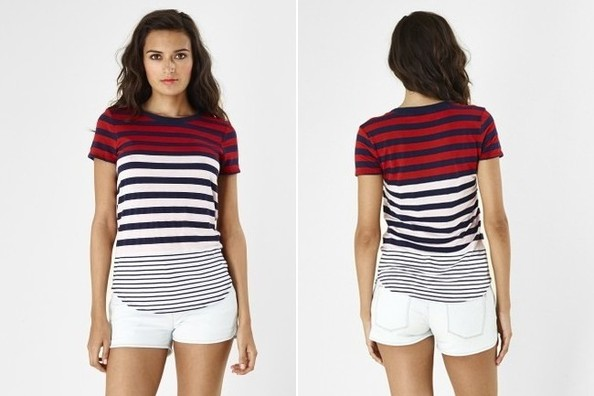 Found: Olivia Wilde's Striped Tee