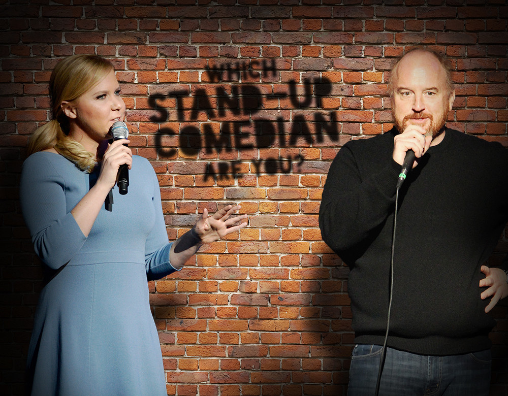 which stand up comedian are you quiz zimbio