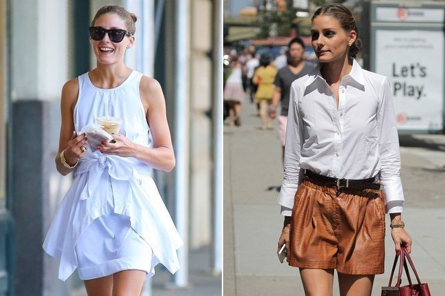 Two Crisp Summer Outfit Ideas From Olivia Palermo