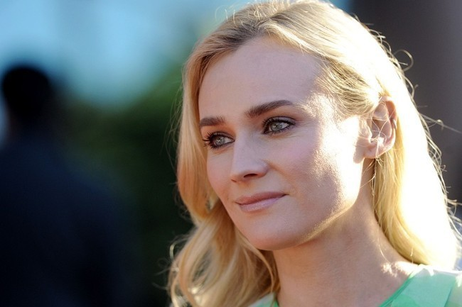 Diane Kruger's Striking Green Ombre Gown