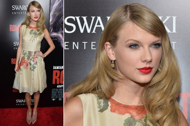 Taylor Swift's Soft Retro Style