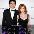 Christina Hendricks & Geoffrey Arend -  100 Hottest Celebrity Couples of 2010