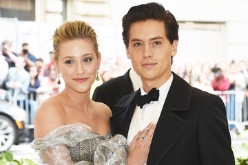 Lili Reinhart And Cole Sprouse Make Their Red Carpet Debut As A Couple At The 2018 Met Gala