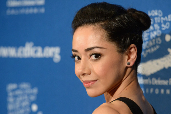 You Have Got To See Aimee Garcia's Perfectly Plaited Bun