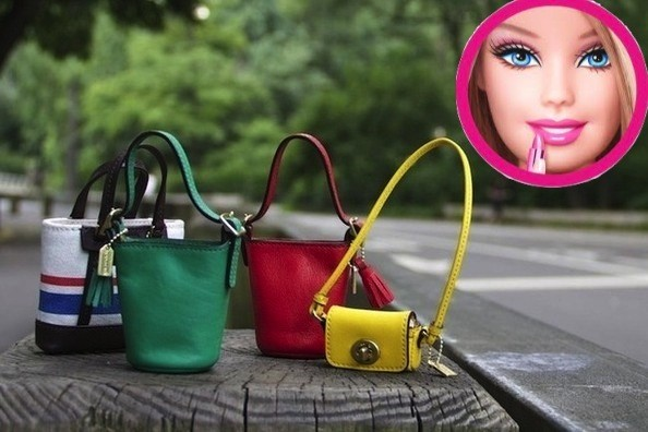 Barbie is Getting a Coach Makeover - Look at Her Little Handbags!