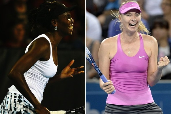 Venus and Maria Rock Tennis Style... Not to Mention Talent