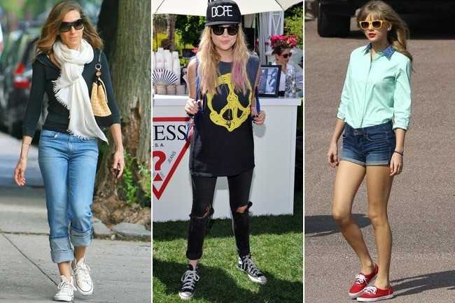 b1ac452220f98 Kickin  It  6 Ways to Dress Up Your Sneakers - Outfit Ideas - Livingly
