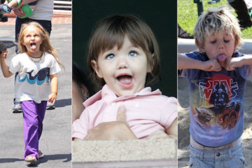 Famous Kids, Goofy Faces