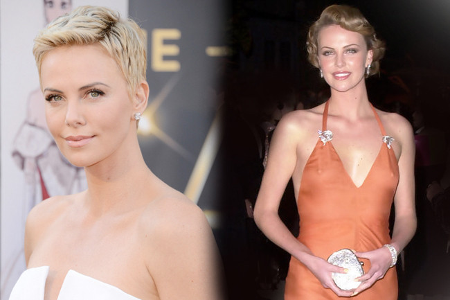 Fashion Flashback - Charlize Theron Then & Now