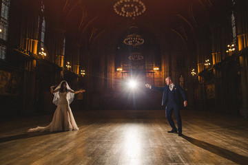 This Couple Had the Most Elaborate 'Harry Potter' Wedding Imaginable