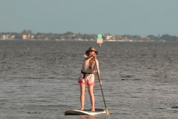 Hot New Springtime Water Sport: Stand-Up Paddleboarding