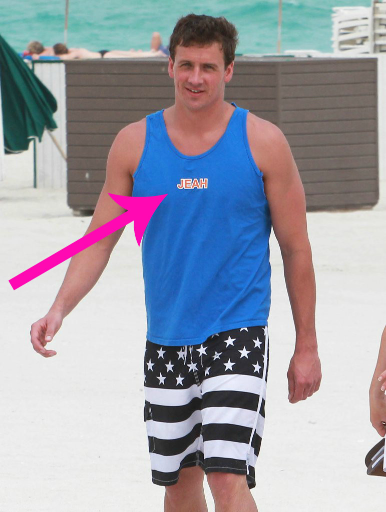 Did Ryan Lochte Just Give Us a Sneak Peek at His Clothing Line?
