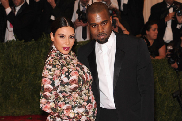 Riccardo Tisci Defends Kim Kardashian's Met Ball Dress, Drops Kimye Engagement Bomb