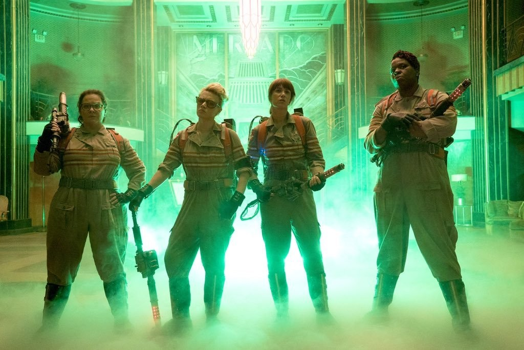 The Ladies of the All-Female 'Ghostbusters' Look So Badass in a New Pic
