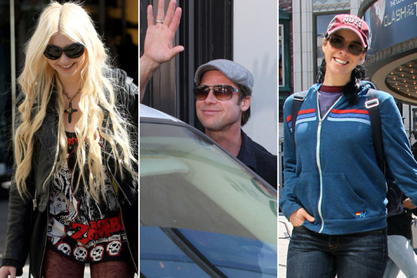 Celebs at the Grove