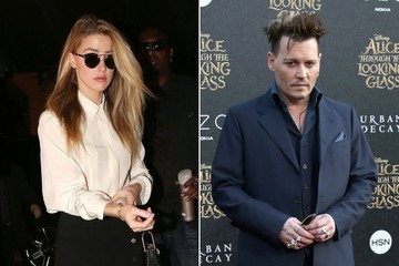 Amber Heard's Domestic Violence Deposition Against Johnny Depp Takes Off More Than an Hour Late